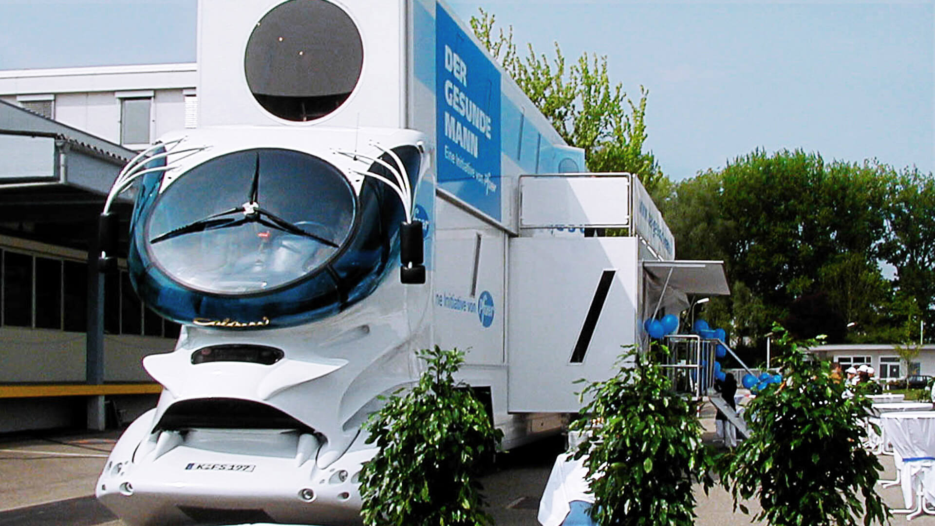 mobile-Zweigstelle Beratungs-Mobil Promotionmobil Showtruck Infomobil
