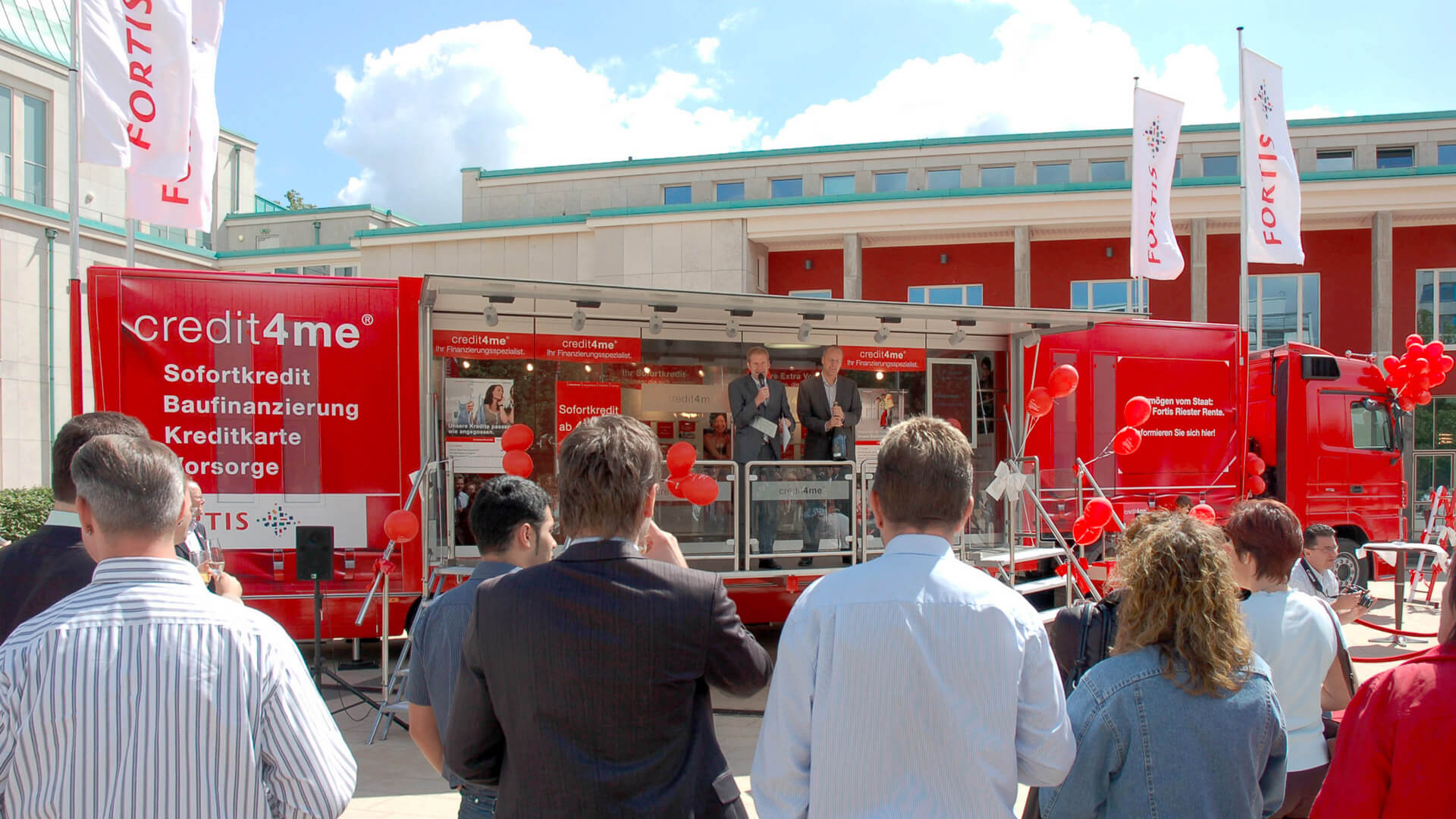 mobile-Filiale mobile-Zweigstelle Vertriebsmobil Beratungs-Mobil Promotionmobil Showtruck Infomobil