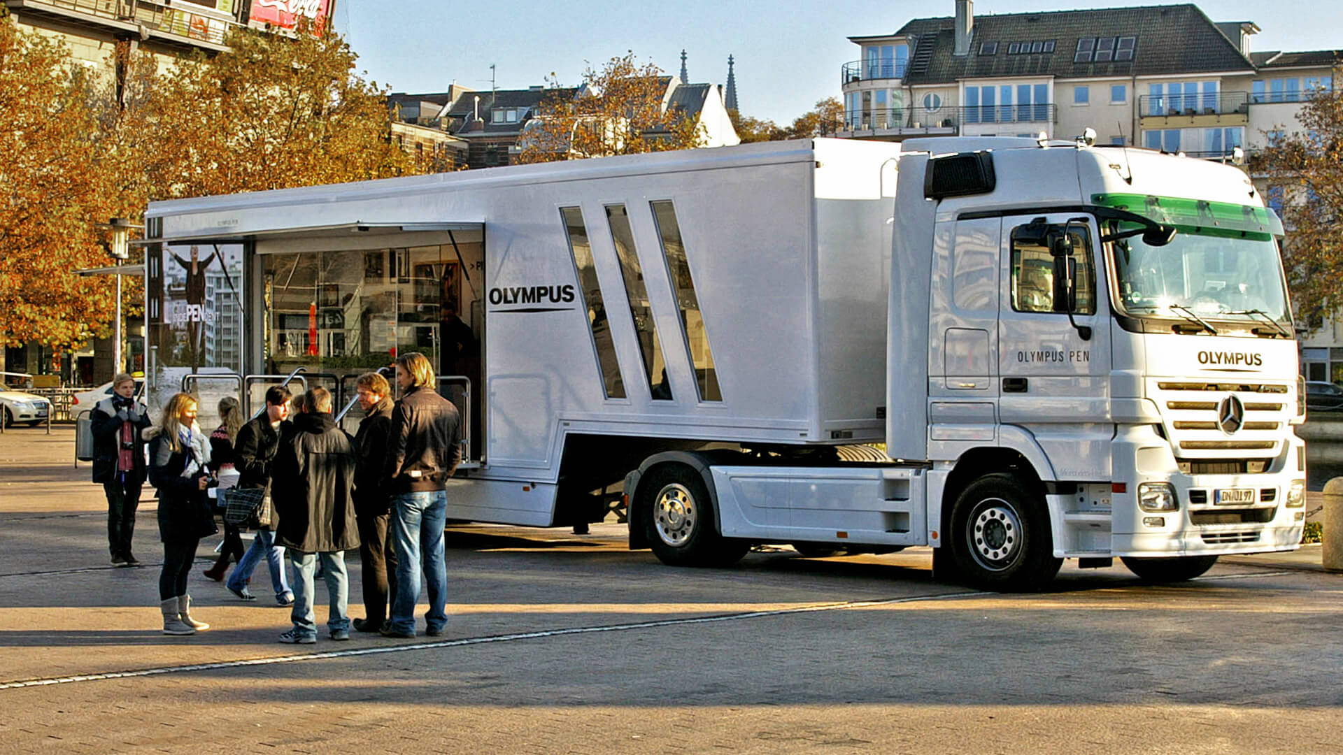 mobile-Events Roadshow Promotion mobiles-Marketing Infomobil Truck Showtruck