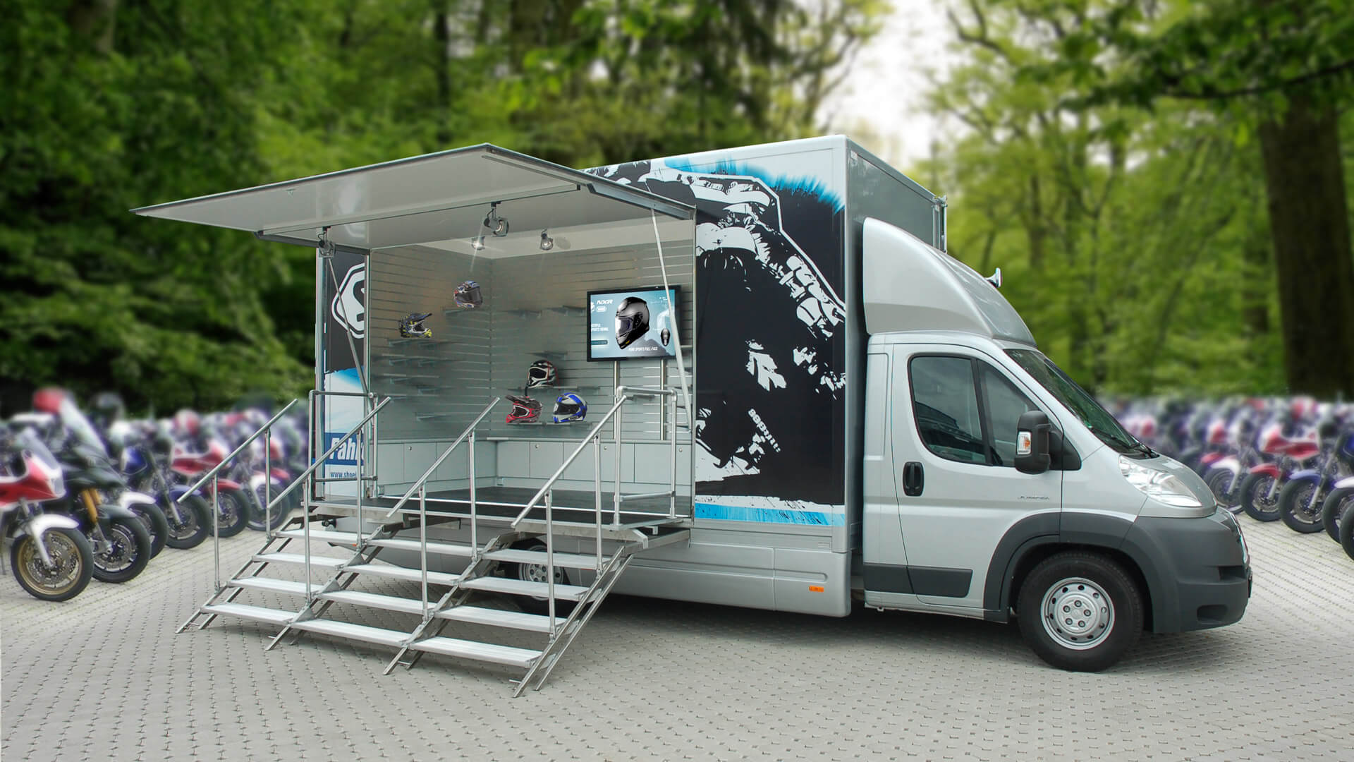 Infobus Roadshow Showtruck mobiles-Marketing