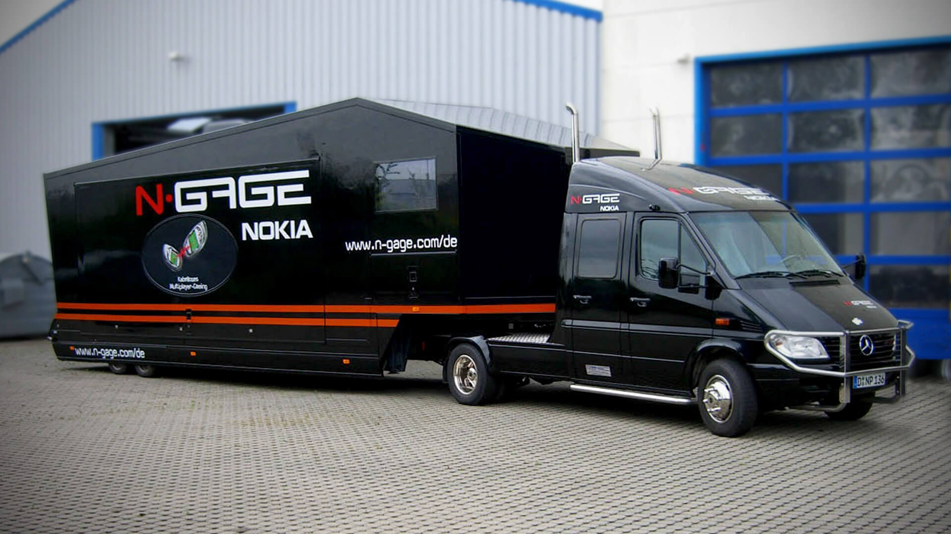 Promotion-Trailer Roadshow Werbemobil mobiler-Showroom Infomobil