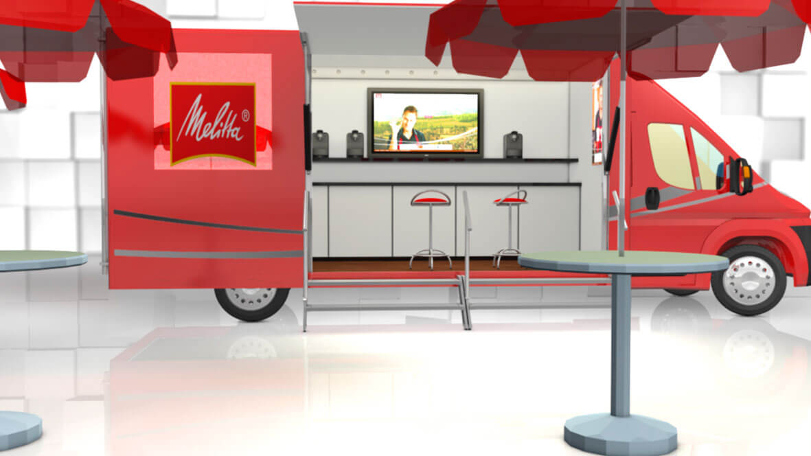 Roadshow Promotion mobiles-Marketing Showtruck-Entwicklung